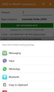 AUD to All Exchange Rates & Currency Converter - náhled