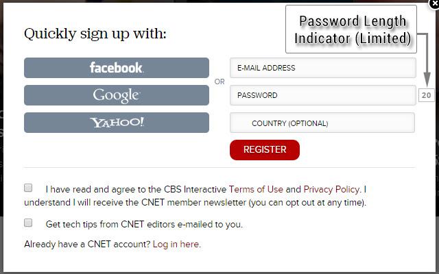 Password Length Inspector