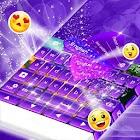 Keyboard Purple Glow icon