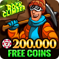 Rock Climber Free Casino Slot