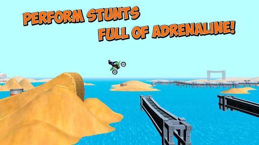 免費下載賽車遊戲APP|Motocross Bike Stunts Race 3D app開箱文|APP開箱王