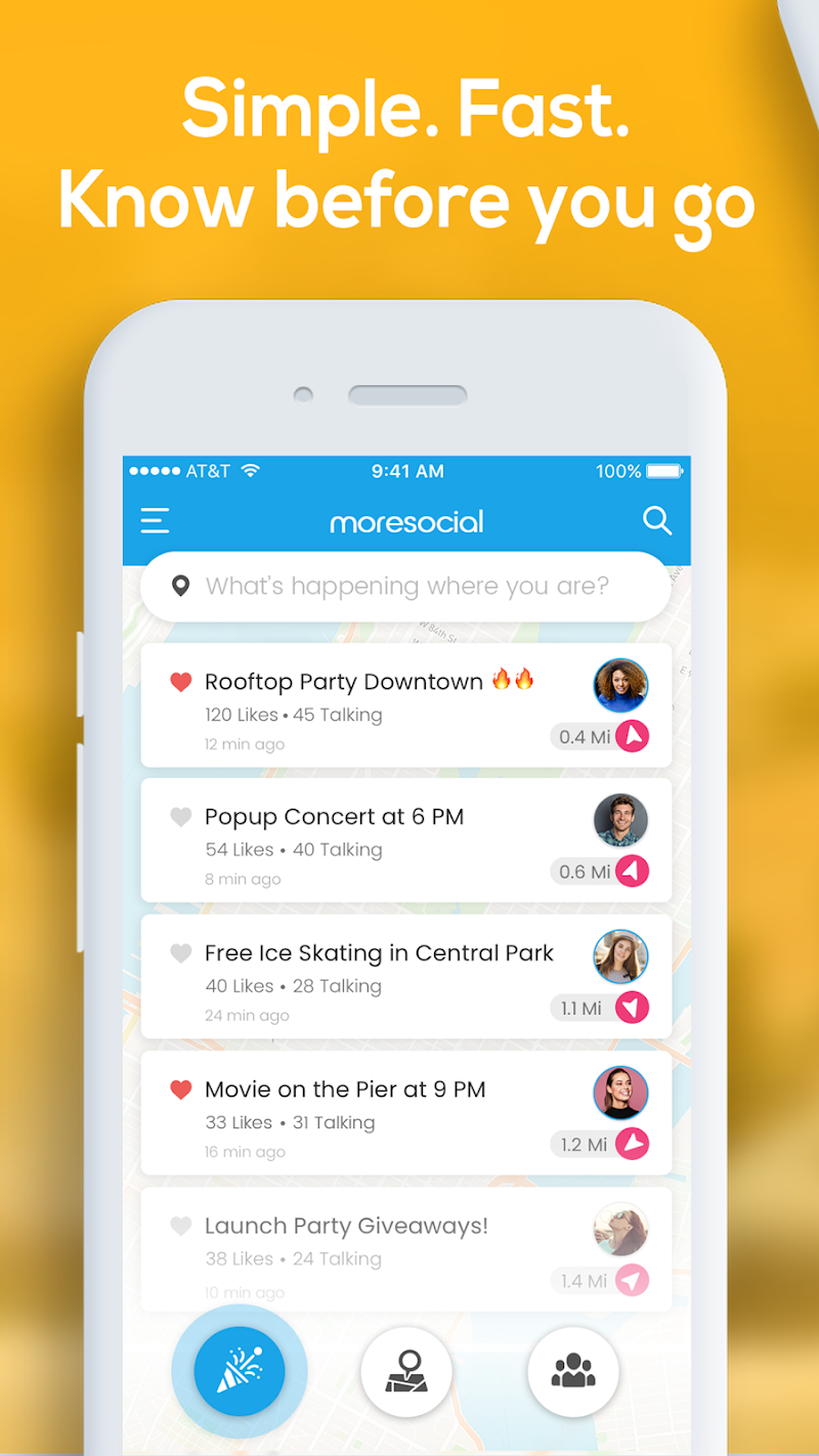 Скриншот Moresocial NYC - Events and Things to Do Near You