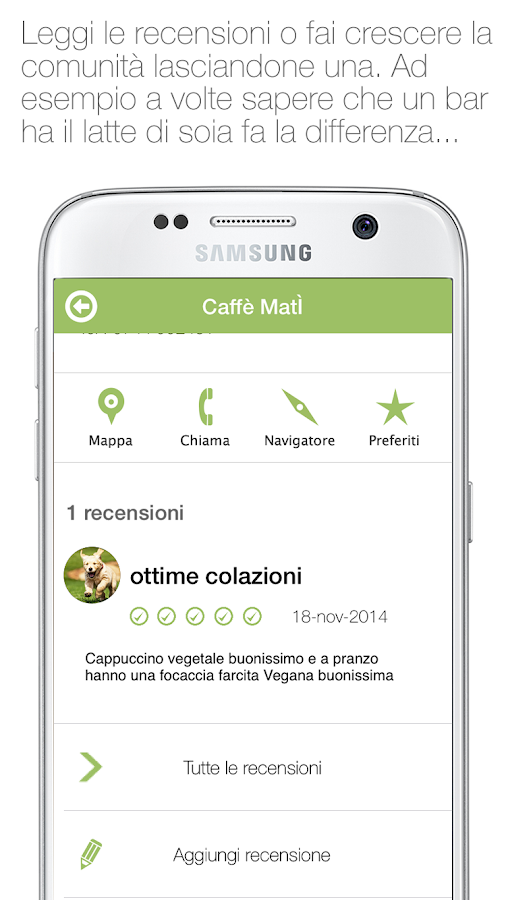 TuttoVegan- screenshot