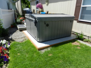 Photo: The EZ pad was the easiest part of the project, my wife and I installed it in a half hour. We were very pleased with the fast shipping and ease of installation. Thank you,  Todd H., Spokane, WA