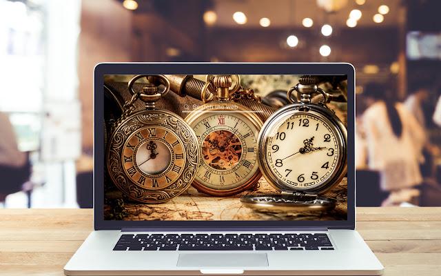 Grandfather Clocks HD Wallpapers Theme
