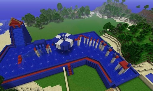 Map Wipeout for MCPE - náhled