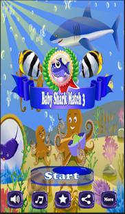 Baby Shark Match 3 - náhled