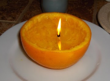 Orange Candle Recipe