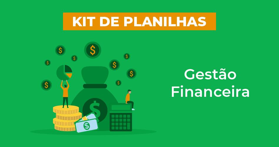 kit de planilha de gestão financeira
