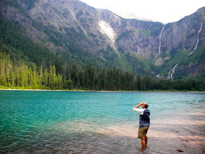 Photo: Avalanche Lake Tuesday afternoon