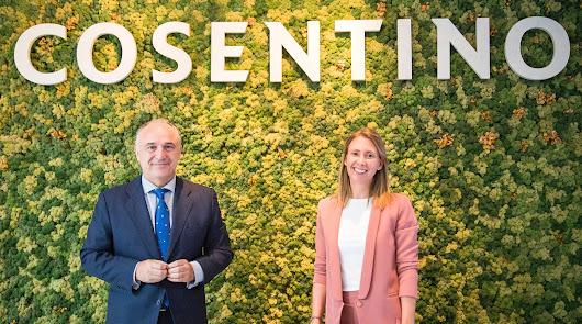 Pilar Martínez-Cosentino, ganadora de los 'Premios Mujer Empresaria'