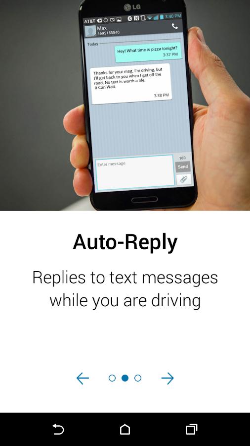 AT&T DriveMode- screenshot