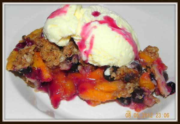 Peachy Blue Quaker Pie Recipe