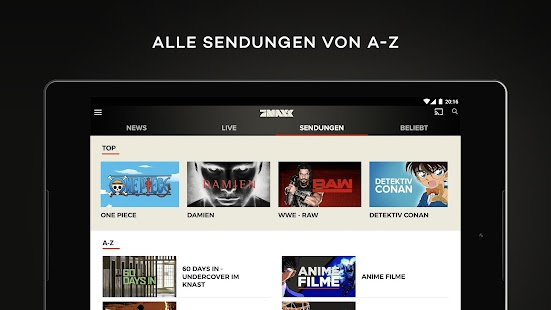 prosieben maxx kostenloses live tv und mediathek android apps auf google play. Black Bedroom Furniture Sets. Home Design Ideas