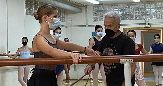 Víctor Ullate y Eduardo Lao encienden la vocación por la danza en Almería