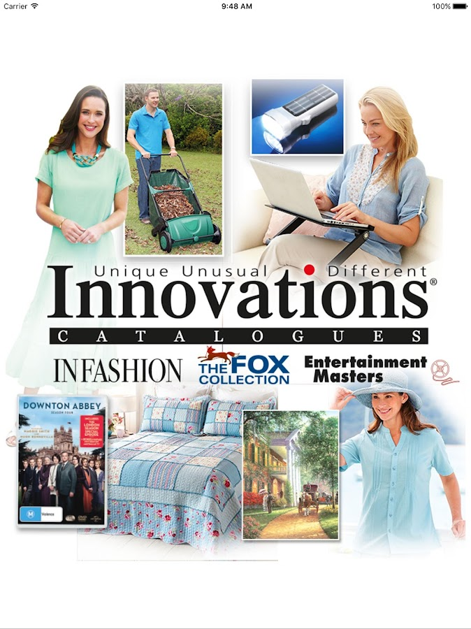 Innovations Catalogues- screenshot