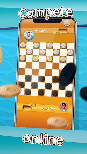 Checkers - Draughts Multiplayer Board Game screenshots 3