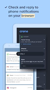 Crono - Notifications, Messages, Clipboard on PC Screenshot