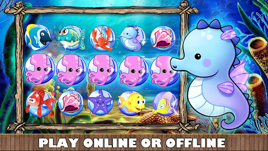 Gold party fish slots machine android apps on google play for Play go fish online