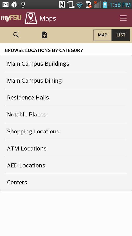 myFSU Mobile- screenshot