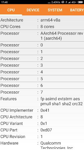 玩免費工具APP|下載System Hardware CPU Info app不用錢|硬是要APP