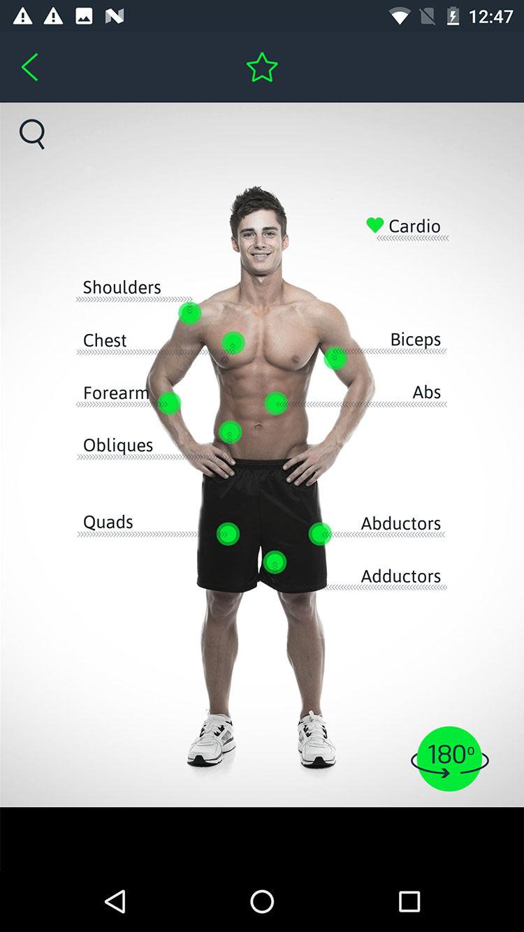 Home Workouts Personal Trainer Screenshot 2