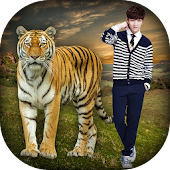 Wild Animal Photo Frames - Animal Photo Editor