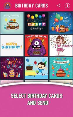 Birthday Animated Cards - screenshot
