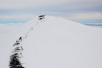 Photo: And here's the actual summit at 13,796 ft. There's a small Hawaiian altar or shrine at the top.