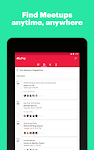 screenshot of Meetup: Find events nearby