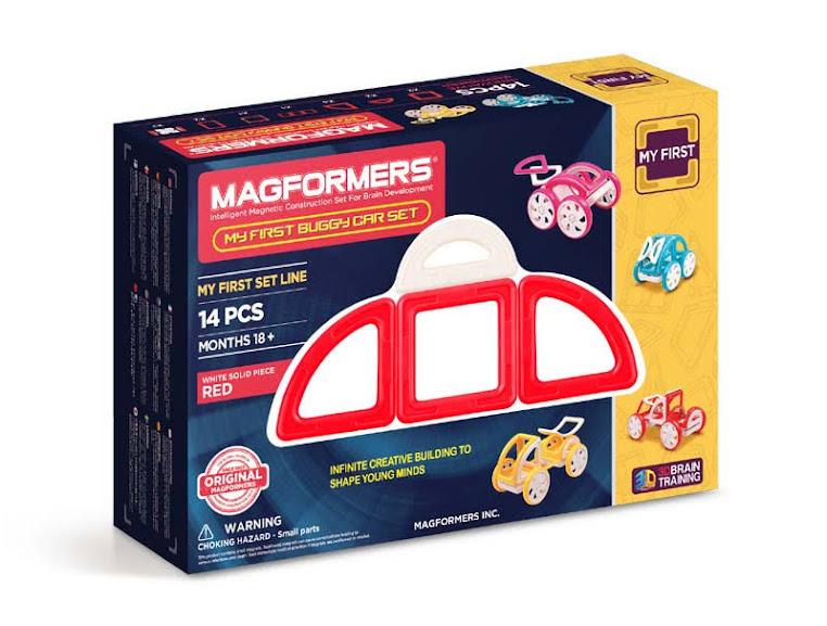 Contenido de Magformers® My First Buggy Car Set
