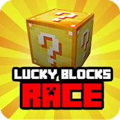 Mod Lucky Blocks Race for MCPE