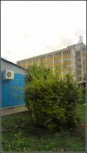 Photo: Str. Andrei Muresanu, spatiu verde al Spitalului Municipal - 2017.09.24