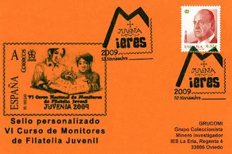 Photo: Matasellos de la Juvenia de Mieres 2009