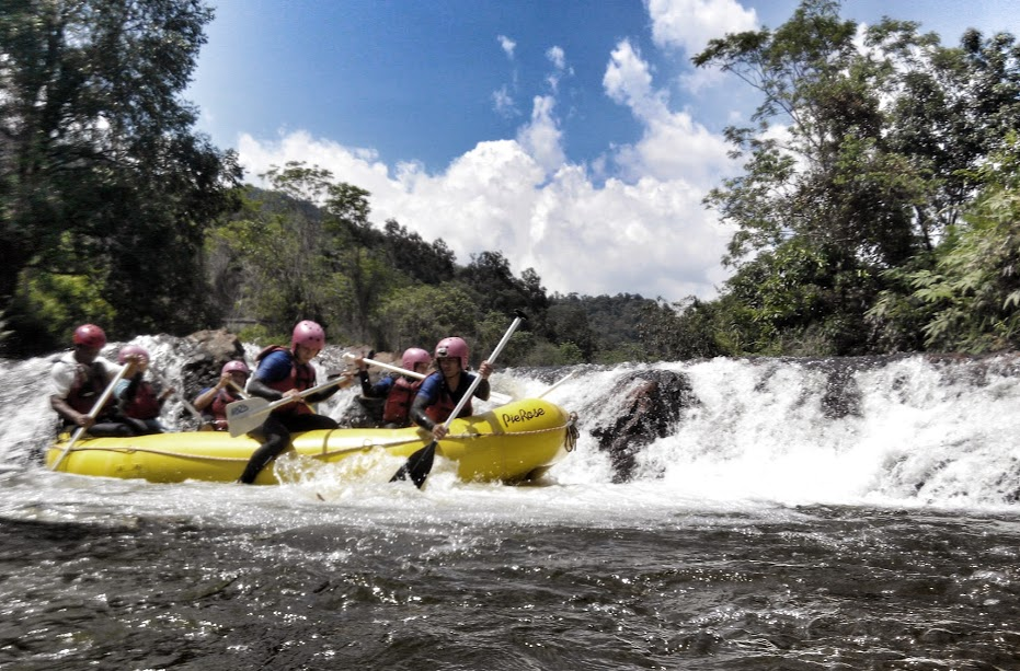 Book a trip to Malaysia and you can do white water rafting