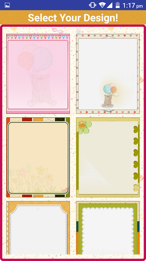 Birthday Invitation Card Maker Android Apps on Google Play – Birthday Invitation Card Maker