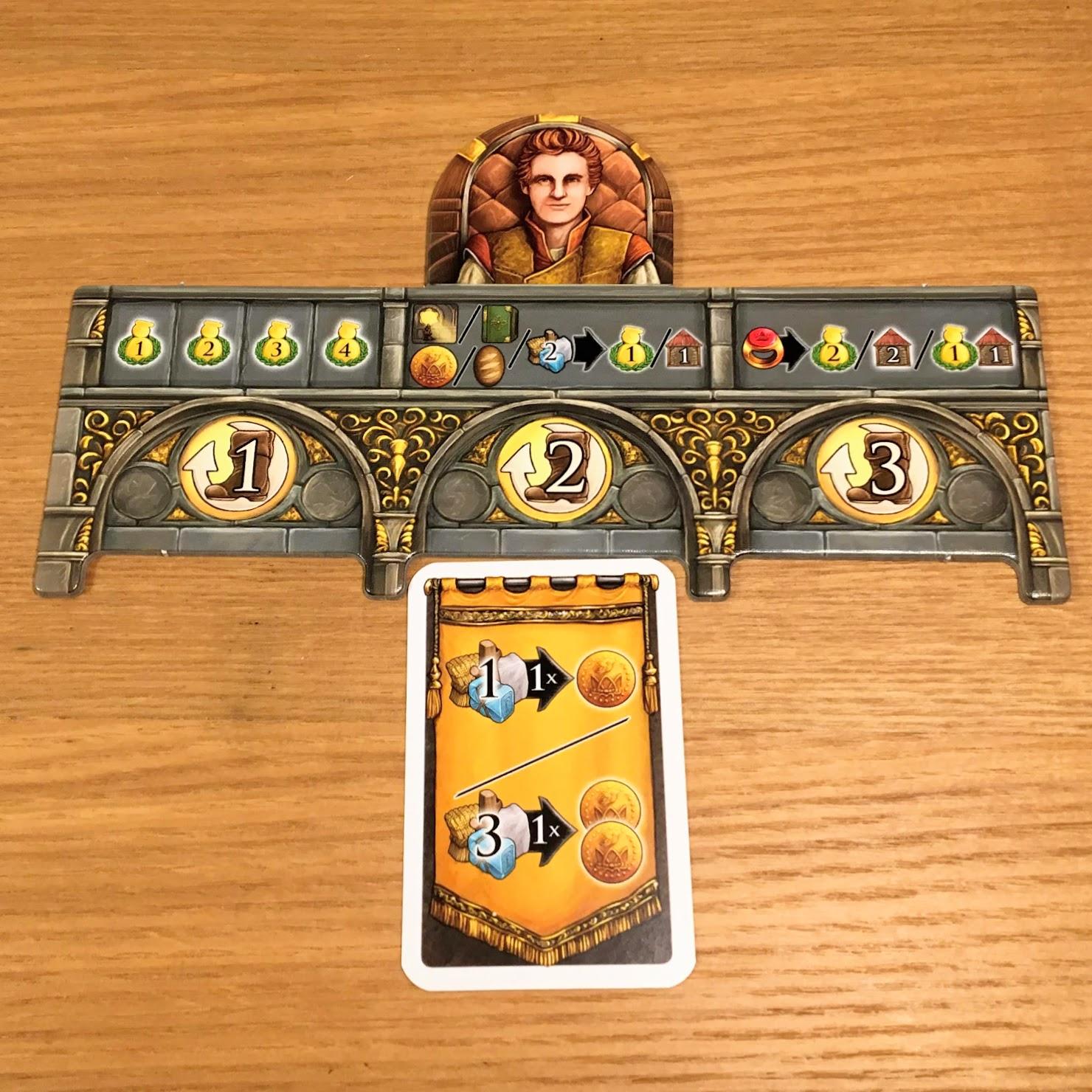 カードの配置|エマラの王冠 (Crown of Emara)