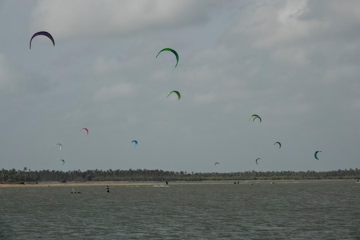 Sri. Lanka Kalpitiya Kiteboarding. Kalpitiya Lagoon Summer Season