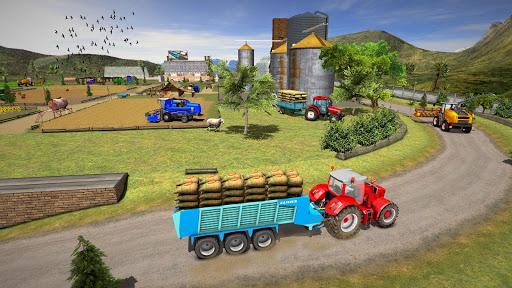 Farming Simulator Game 2018 u2013 Real Tractor Drive 1.4 screenshots 16