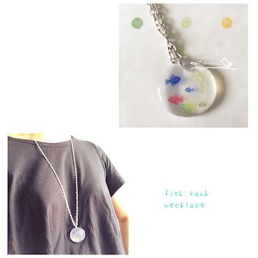 fish tank necklace