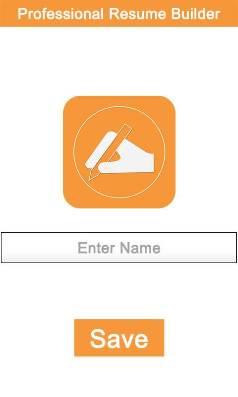 professional resume builder screenshot - Free Resume Builder And Save