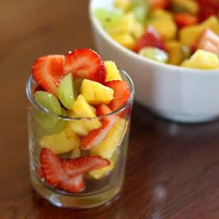 Honey Lime Summer Fruit Salad.