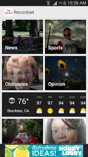 Recordnet, Stockton, Calif.- screenshot thumbnail