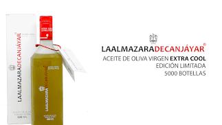 Botella de aceite de oliva virgen extra Cool.