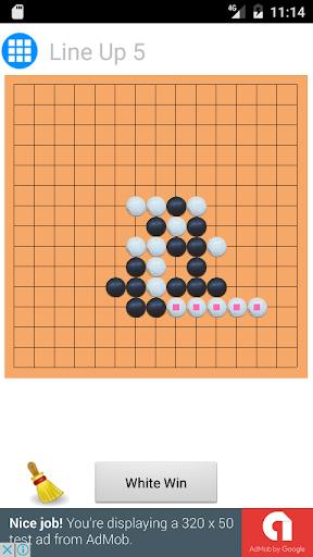 玩免費棋類遊戲APP|下載Line Up 5 app不用錢|硬是要APP