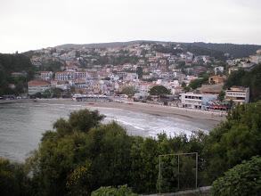 Photo: Local beach at Ulcinj, our favorite coastal spot in Montenegro