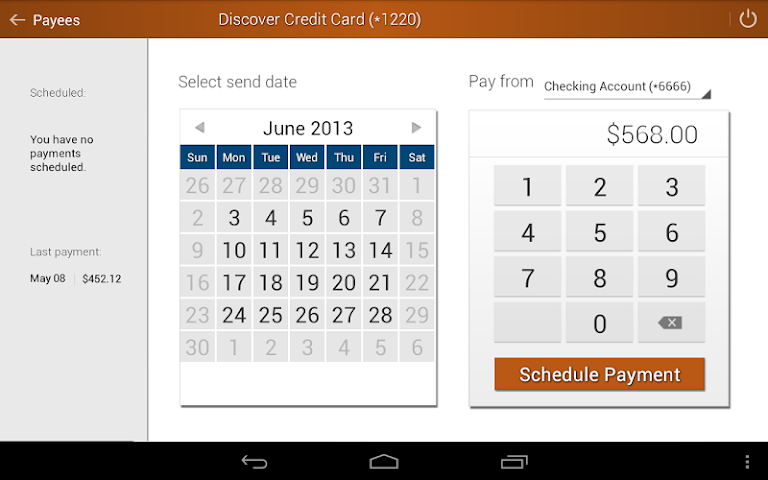 android Elevations Credit Union Mobile Screenshot 14