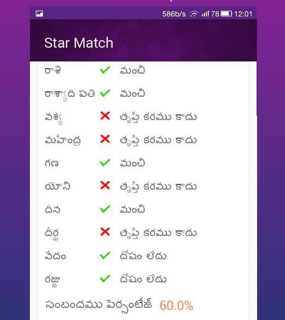 Marriage for online jathakam Matching Jathakam