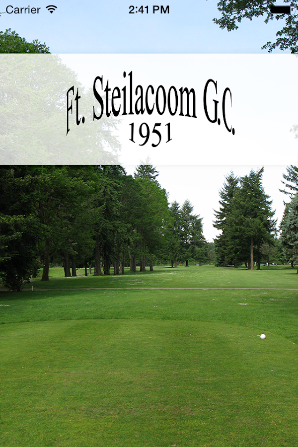 Fort Steilacoom GC- screenshot