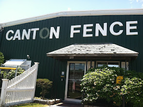 Photo: Canton Fence Co. Inc. in Stoughton, MA proudly displaying their BBB Accreditation.